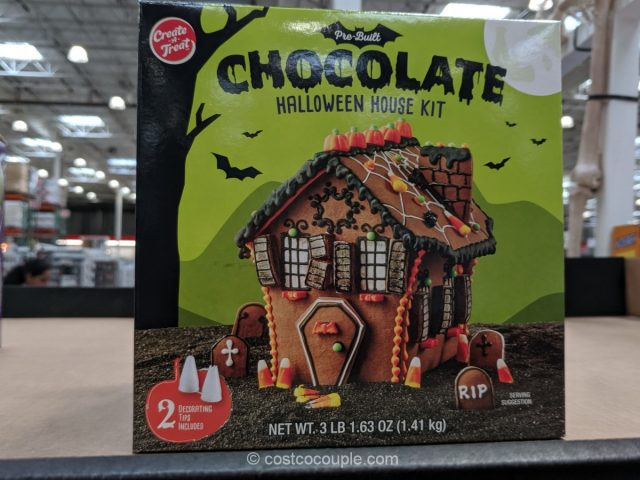 Create-a-Treat Halloween House Kit Costco