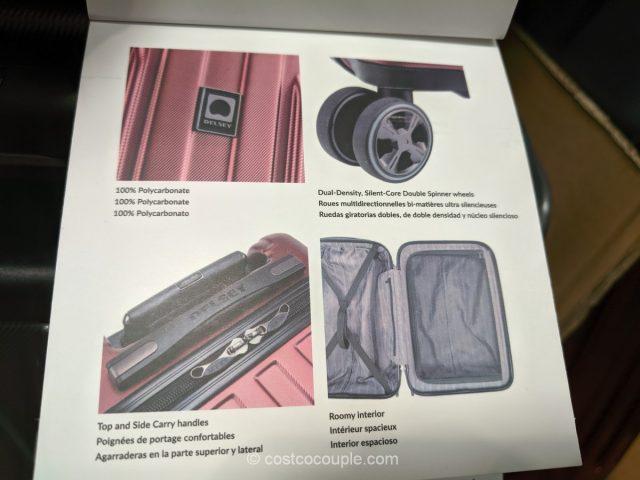Delsey Carbonite Hardside Spinner Costco