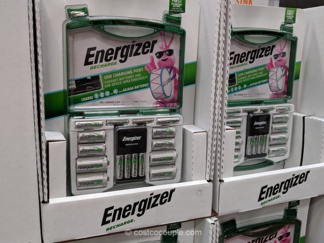 Energizer Rechargeable Battery Kit Costco