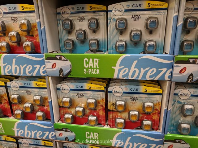 Febreze Air Freshener Car Air Vent Clips Costco