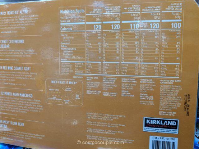 Kirkland Signature Cheese Flight Costco