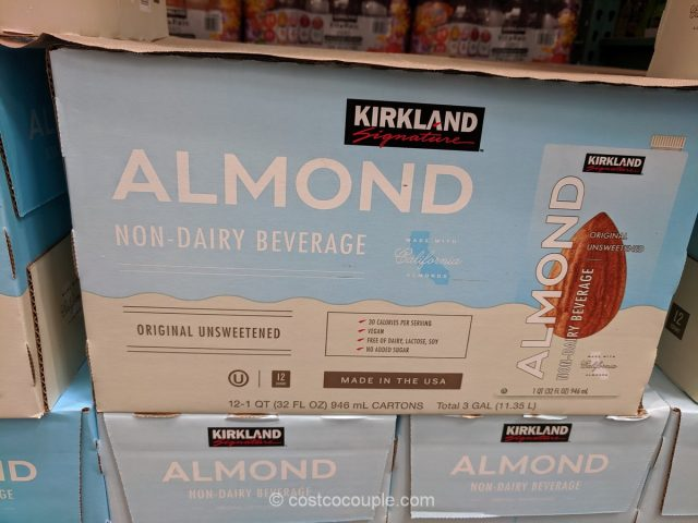 Kirkland Signature Unsweetened Almond Non-Diary Beverage Costco