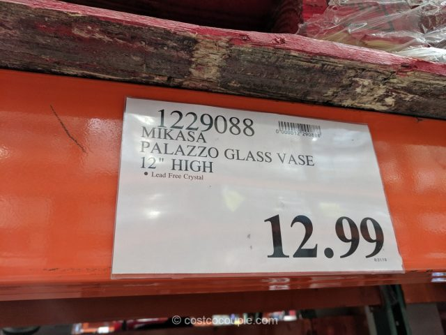 Mikasa Palazzo Glass Vase Costco