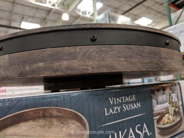 Mikasa Wood And Iron Lazy Susan