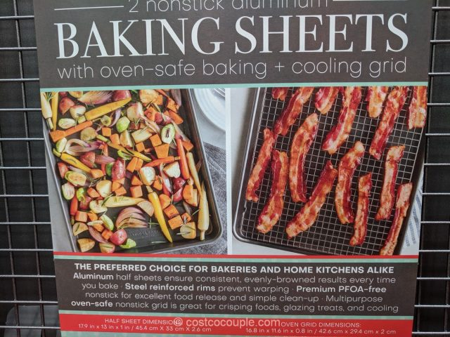 Nordic Ware Baking Sheet Set Costco