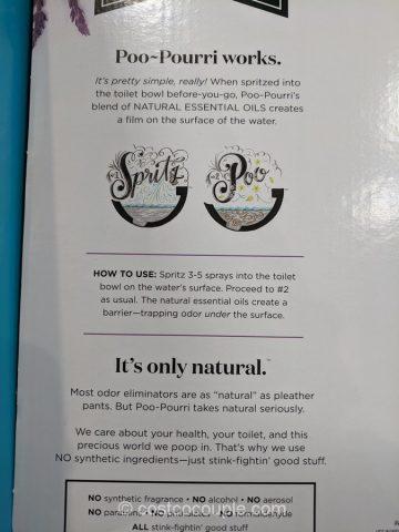 Poo Pourri Toilet Spray Costco
