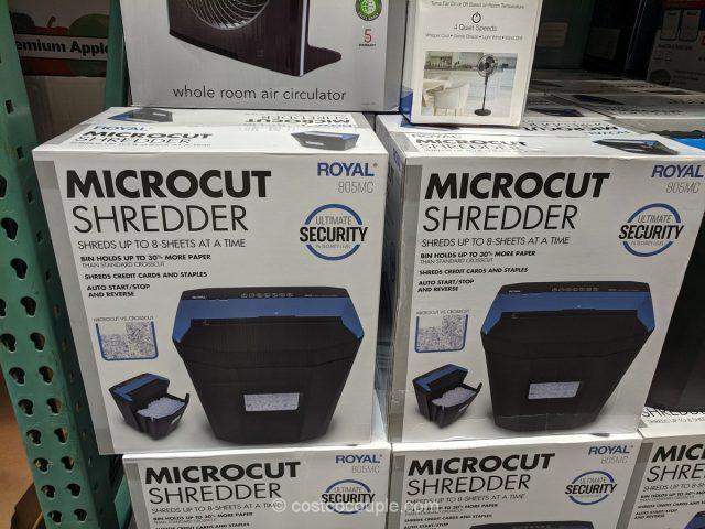 Royal 8-Sheet Microcut Shredder Costco