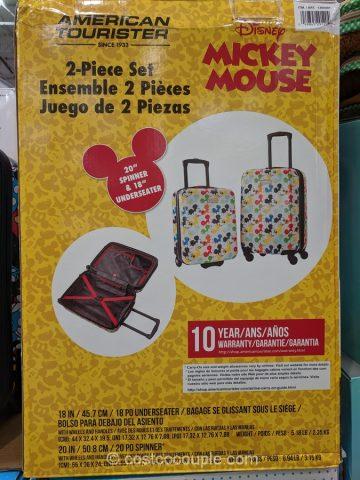 American Tourister Disney 2-Piece Set Costco