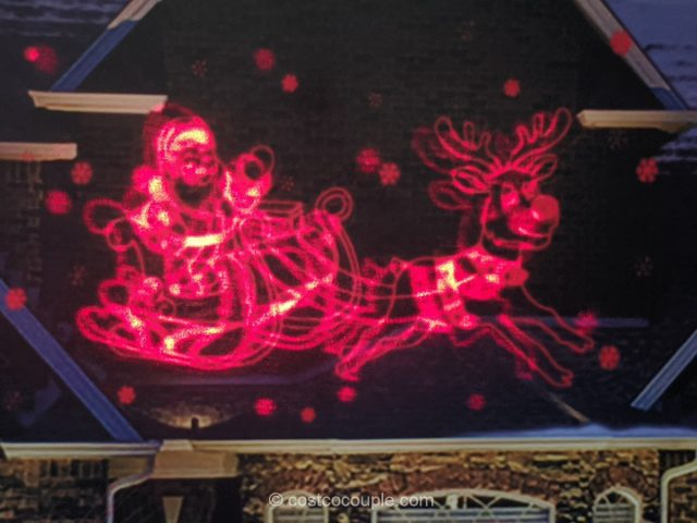 Animated Santa Laser Projector Costco