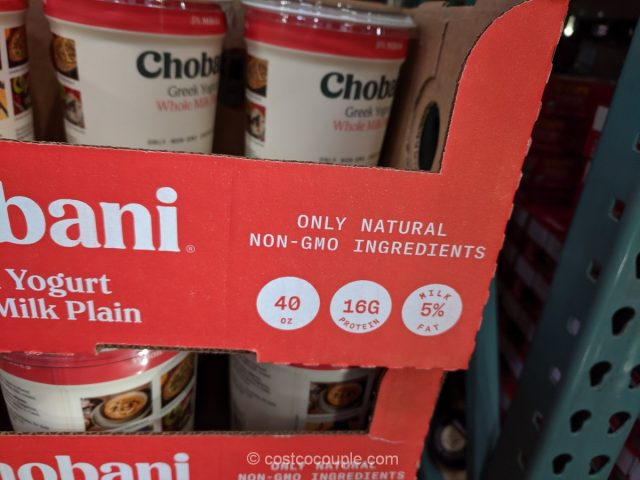 Chobani Plain Greek Yogurt Costco