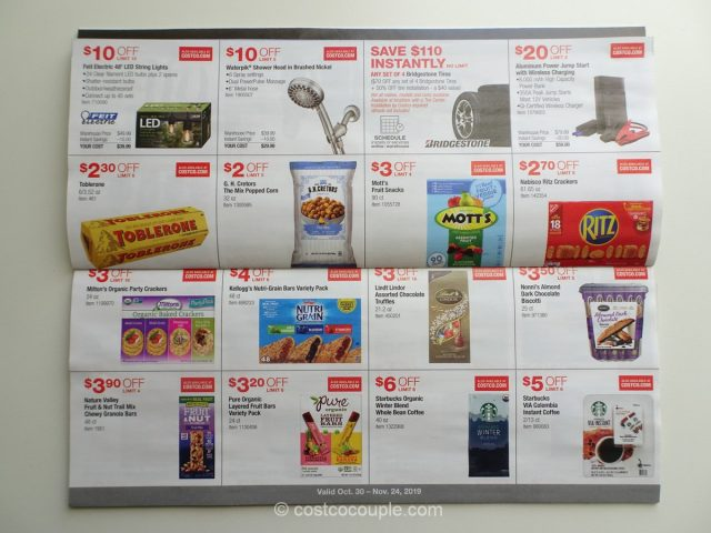 Costco November 2019 Coupon Book