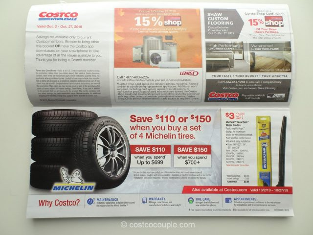 Costco October 2019 Coupon Book 10/02/19 to 10/27/19