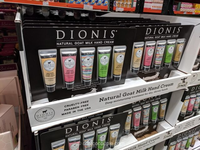 Dionis Goat Milk Hand Cream Costco