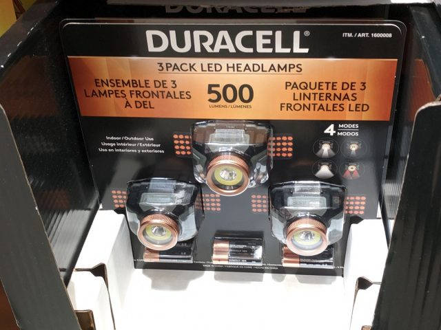 Duracell LED Headlamps Costco