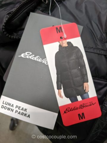 Eddie Bauer Ladies Luna Peak Down Parka Costco