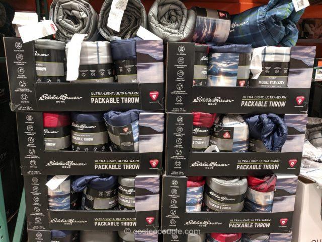 Eddie Bauer Primaloft Packable Throw Costco