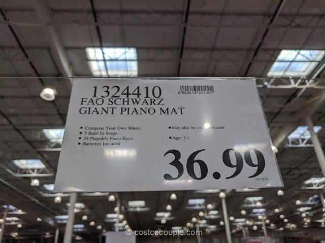 FAO Schwarz Giant Piano Mat Costco