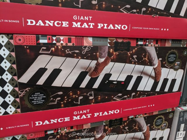 Fao Schwarz Giant Piano Mat