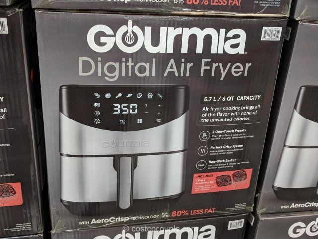 Gourmia Digital Air Fryer Costco