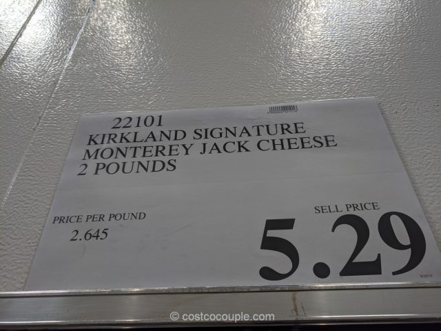 Kirkland Signature Monterey Jack Cheese Costco