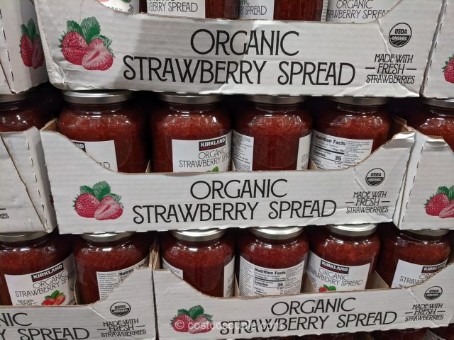 Kirkland Signature Organic Strawberry Spread Costco