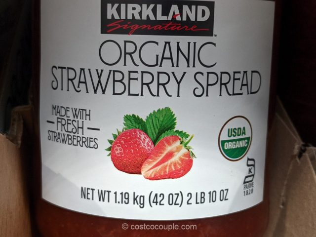 Kirkland Signature Organic Strawberry Spread Costco