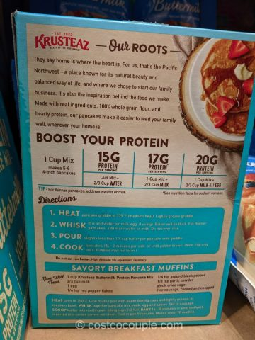 Krusteaz Protein Pancake Mix Costco