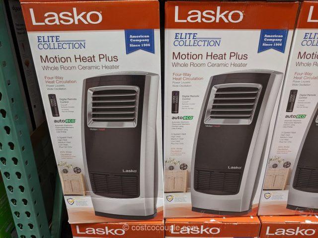 Lasko Ceramic Heater Motion Heat Plus Costco