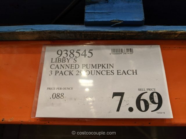 Libbys Canned Pumpkin Costco