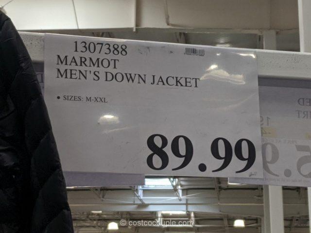 Marmot Mens Down Jacket Costco