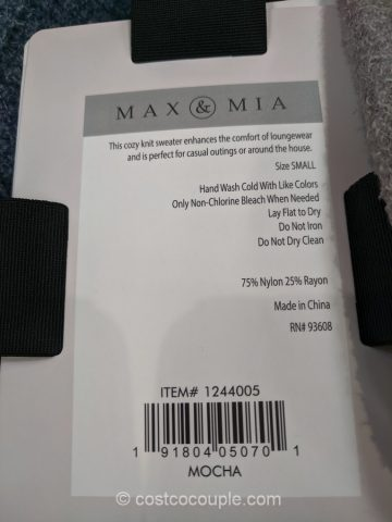 Max & Mia Ladies' Travel Cardigan Costco