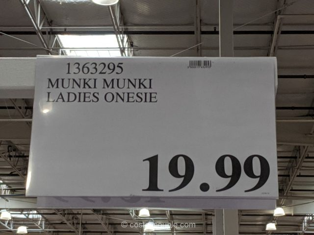 Munki Munki Fleece Onesie Costco
