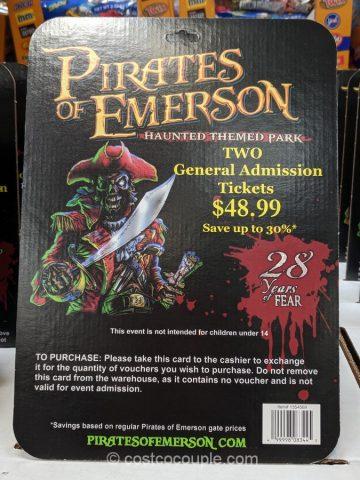 Pirates of Emerson 2019 General Admission Costco