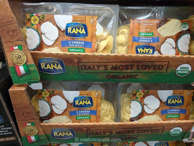 Rana Organic 3 Cheese Mini Ravioli Costco