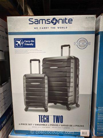 Samsonite Tech Two Hardside Luggage Set Costco