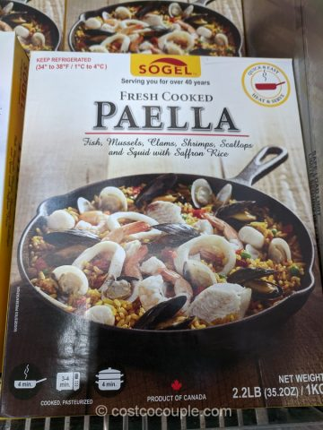 Sogel Fresh Cooked Paella Costco