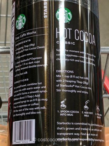 Starbucks Hot Cocoa Costco