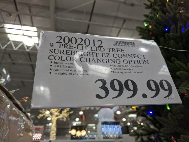 9-Ft Artificial Pre-Lit LED Tree Costco