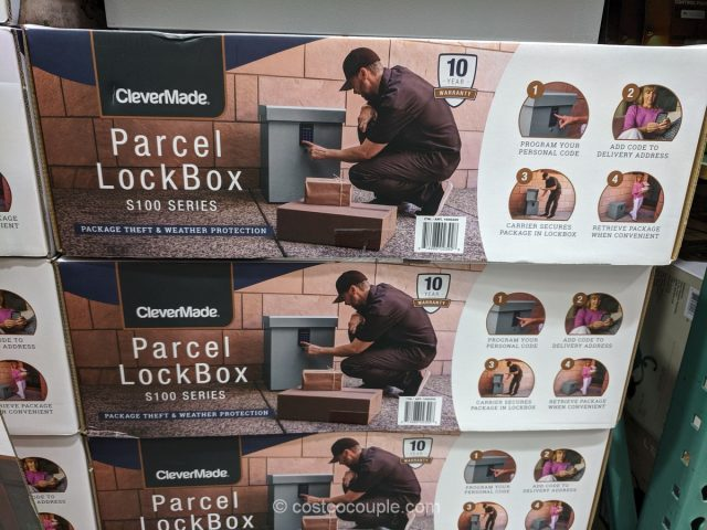 CleverMade S100 Series Parcel Lockbox Costco