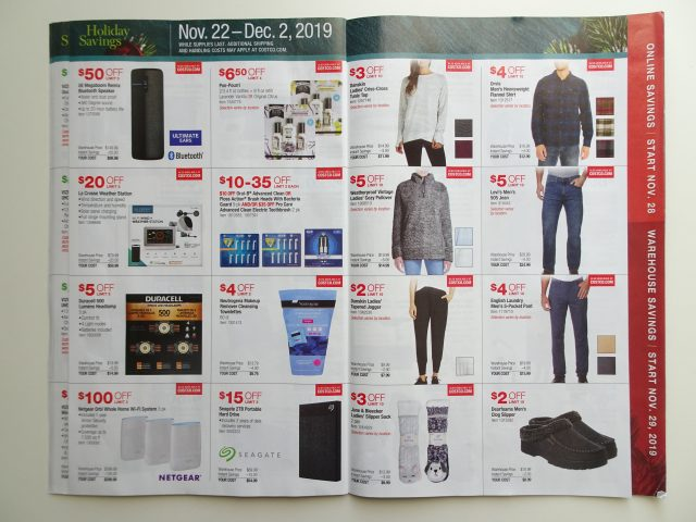 Costco 2019 Holiday SavingsCostco 2019 Holiday Savings