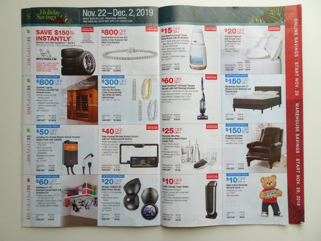 Costco 2019 Holiday Savings
