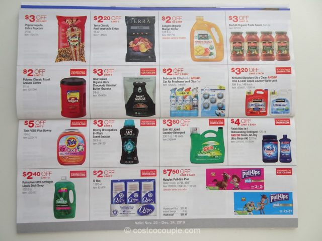 Costco December 2019 Coupon Book 11/25/19 to 12/24/19