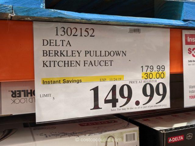 Delta Berkley Pulldown Kitchen Faucet Costco