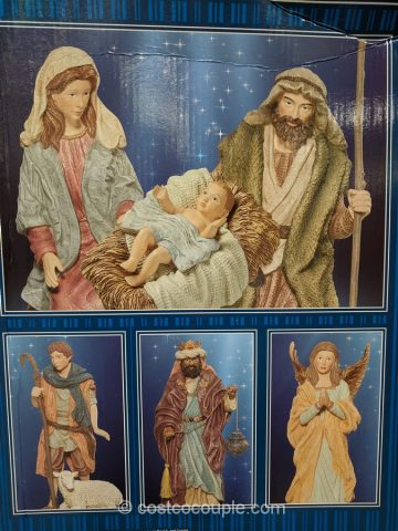 Kirkland Signature 13-Piece Nativity Set Costco