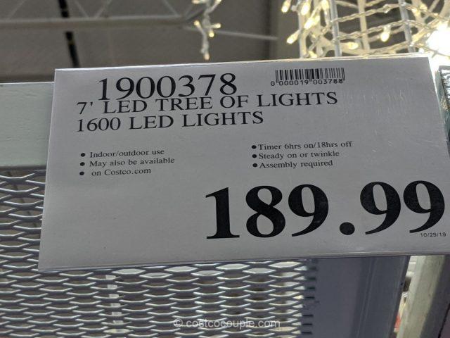 LED Tree of Lights Costco