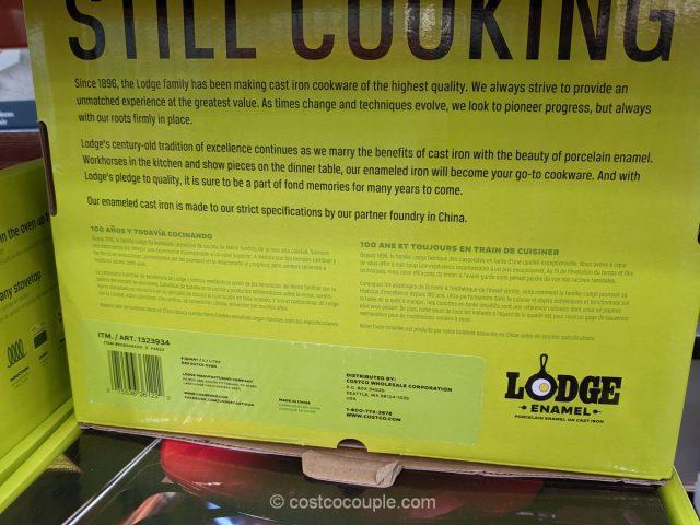 Lodge 6-Quart Cast Iron Dutch Oven Costco