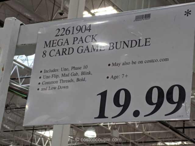 Mega Pack 8 Card Game Bundle Costco
