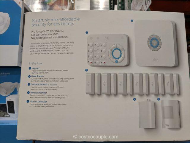 Ring Alarm 10-Piece Wireless Security Alarm Kit Costco
