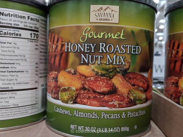 Savanna Orchards Gourmet Honey Roasted Nut Mix Costco