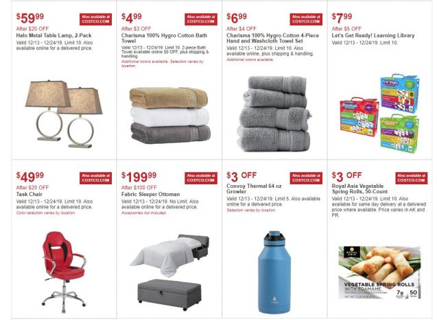 Costco In-Warehouse and Online Hot Buys